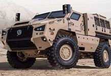An M4 armoured vehicle | www.paramountgroup.com