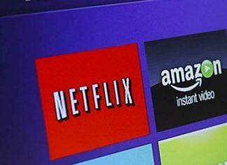 Representational image of a television streaming player menu screen featuring OTT platforms Netflix, Amazon Prime Video | Photo: Patrick T. Fallon | Bloomberg
