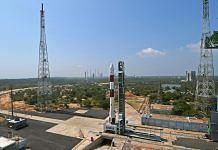 PSLV C-51 at Sriharikota spaceport | Twitter: @isro