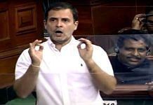 Congress leader Rahul Gandhi speaks during the Budget Session of Parliament, in New Delhi on 11 February 2021   ANI