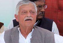 File photo of former Congress MP Captain Satish Sharma at an election rally in Rae Bareli | Photo: PTI
