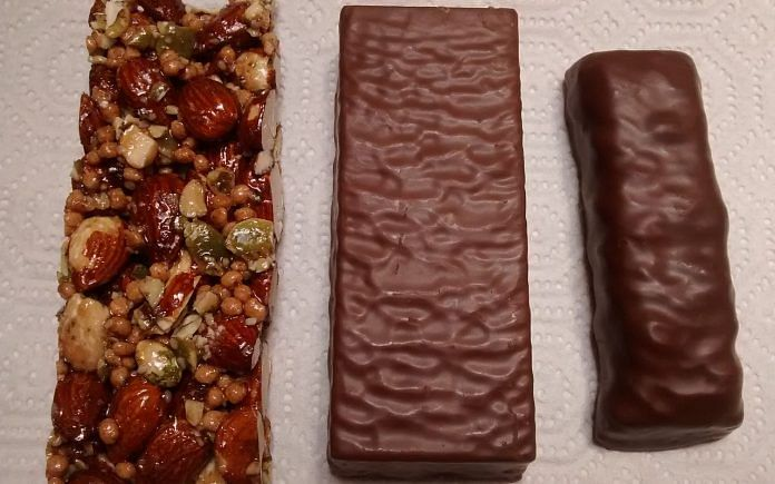 Representational image of protein bars | Wikimedia commons