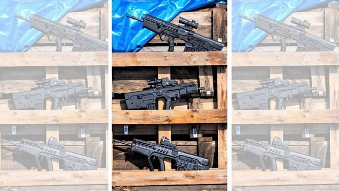 The Tavor family of rifles in India| PLR Systems
