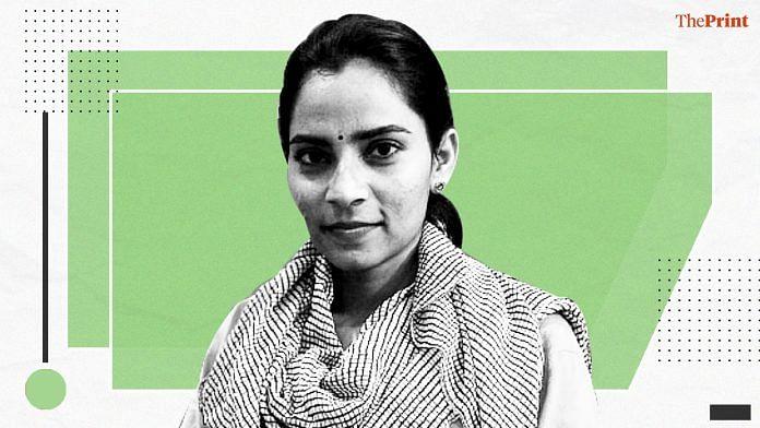 Labour rights activist Nodeep Kaur   ThePrint