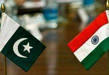 Representational image of the flags of Pakistan and India | File YouTube screengrab