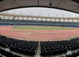 Representational image. | A file photo of the Jawaharlal Nehru Stadium in New Delhi. | Photo: Commons