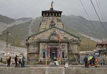 File image of Kedarnath temple in Uttarakhand. Char Dham project aims to improve road connectivity to the Hindu pilgrimage sites of Yamunotri, Gangotri, Kedarnath and Badrinath   Commons