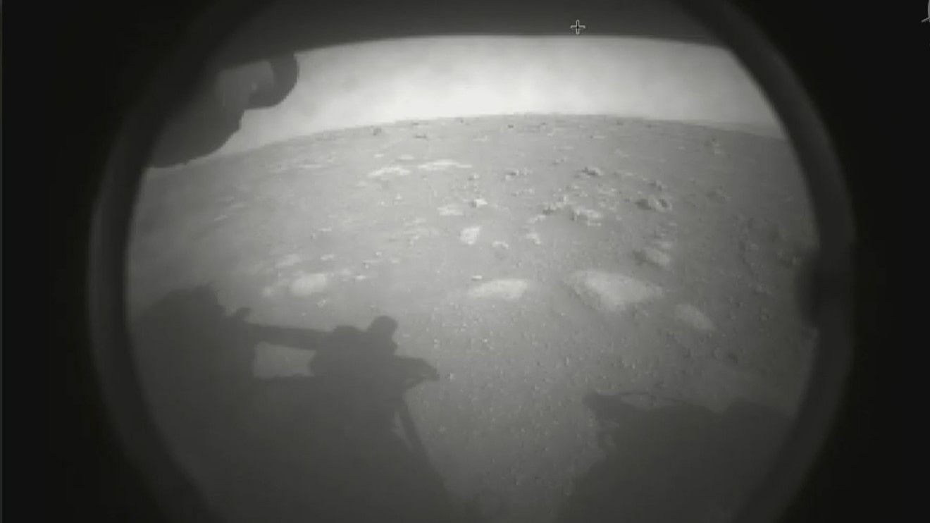 NASA's Perseverance rover lands on Mars in search of ancient life, sends home 1st pictures