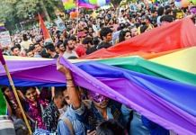 Members and supporters of LGBT community during a pride march in Delhi | Representational image | Atul Yadav | PTI