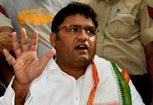 A file photo of former Haryana Congress chief Ashok Tanwar. | Photo: ANI