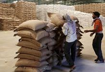 Representational image of wheat sacks at a warehouse | ANI