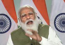 Prime Minister Narendra Modi addresses a webinar in New Delhi, on 26 February 2021 | PTI Photo