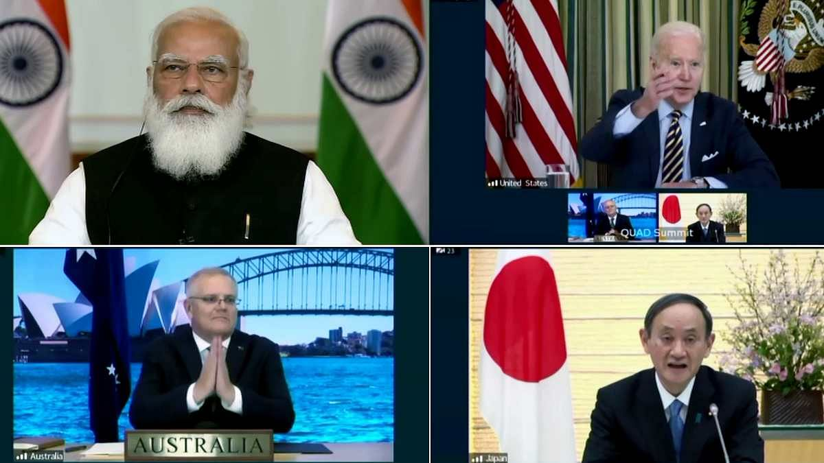 It's clearer to India than ever that Quad is no military alliance. Everything's a bit AUKUS