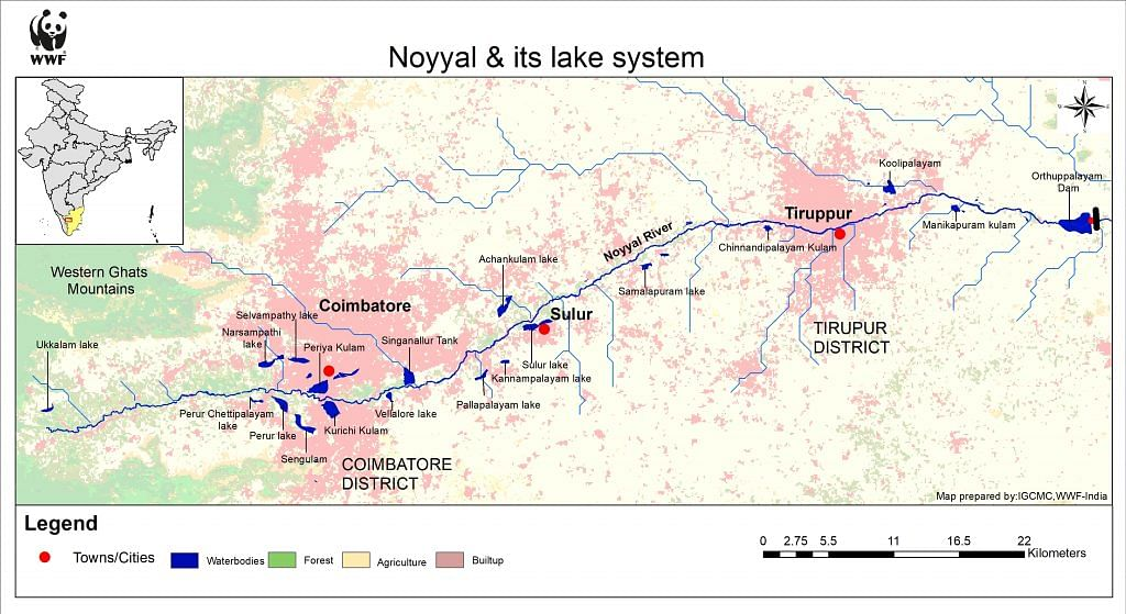 The Noyyal water system | Sanket Bhale