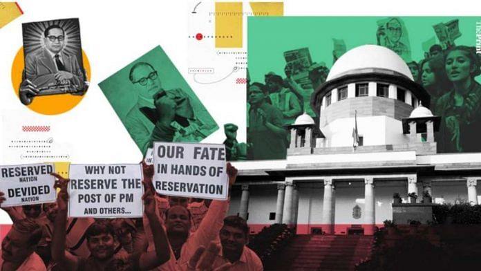 SC Maratha quota verdict: Illustration: Soham Sen | ThePrint