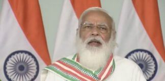 File photo of Prime Minister Narendra Modi | Twitter @BJP4India