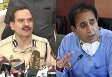 Former Mumbai Police Commissioner Param Bir Singh (left) and Maharashtra Home Minister Anil Deshmukh (right)   Twitter