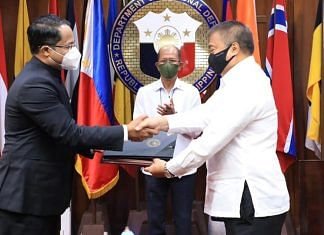 The deal was signed by the two countries at Camp Aguinaldo, headquarters of the Armed Forces of the Philippines Tuesday | Facebook