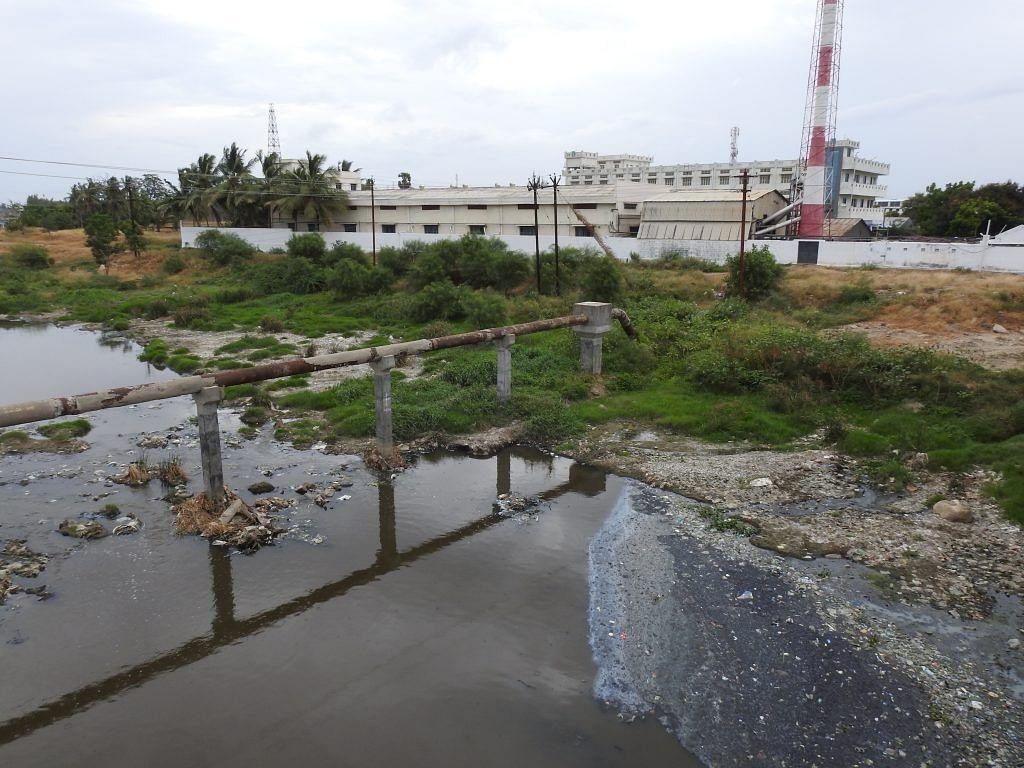 Pollution in Noyyal river | Sanket Bhale