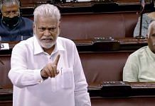 BJP MP Parshottam Rupala speaks in Rajya Sabha during the budget session of parliament, in New Delhi on 19 March 2021 | ANI