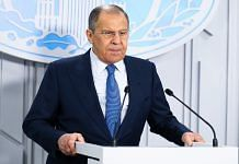 File image of Russian Foreign Minister Sergei Lavrov | Twitter | @mfa_russia