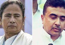 Mamata Banerjee (left) and Suvendu Adhikari | PTI/wikimedia commons