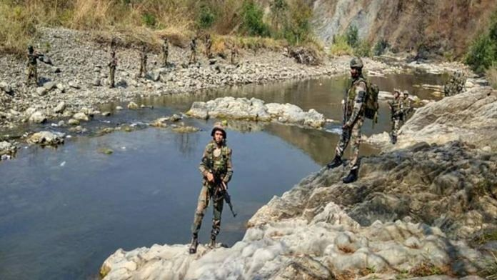 Assam Rifles personnel posted in Mizoram | Representational image | By special arrangement