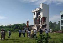 Property belonging to Mukhtar Ansari that was demolished in Lucknow last year   By special arrangement