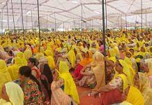 Women protestors at Tikri Border on 8 March 2021 | Unnati Sharma, ThePrint