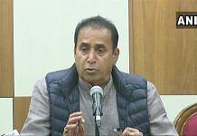 File image of Maharashtra Home Minister Anil Deshmukh | Twitter/@ANI