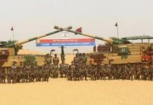 The last salvo event at the decommissioning of the 130mm Self Propelled M-46 Catapult Guns and the 160mm Tampella Mortars. | Photo: Twitter/@adgpi