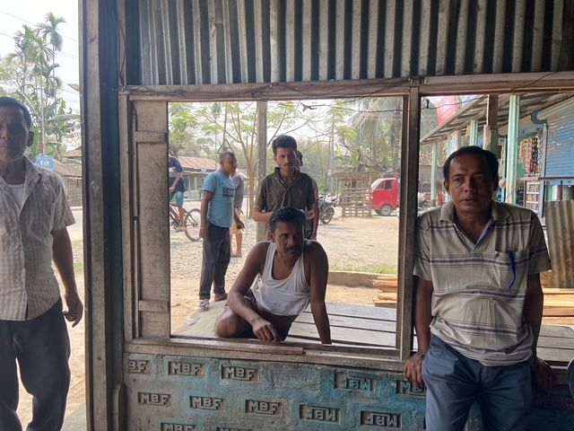 Voters in Tapa village of Barpeta district say the BJP government has brought roads and bridges to Assam. | Photo: Ruhi Tewari/ThePrint