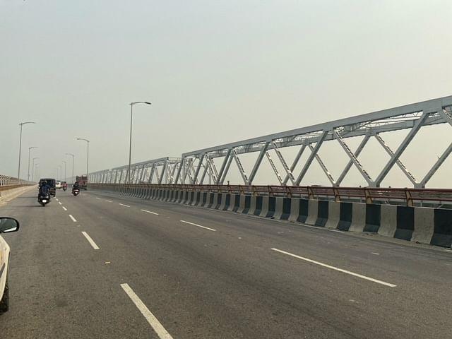 The new Saraighat bridge in Guwahati. | Photo: Ruhi Tewari/ThePrint
