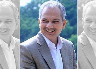 A file photo of ex-Nepal prime minister Baburam Bhattarai. | Photo: Twitter/@brb1954