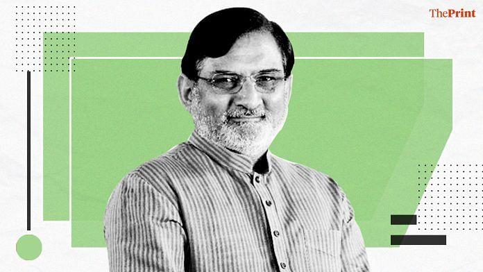 Praful Koda Patel, administrator of Dadra & Nagar Haveli | Twitter | @prafulkpatel