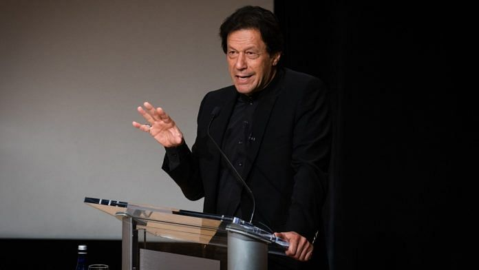 File image of Pakistan Prime Minister Imran Khan | Photographer: Cate Dingley | Bloomberg