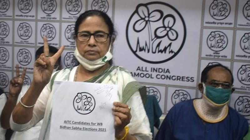 TMC unveils list of 291 candidates for Bengal polls, Mamata Banerjee to contest from Nandigram