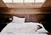 Representational image of a woman sleeping   Pixabay