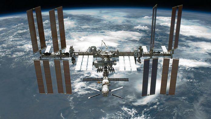 The International Space Station | Pixabay  - space station 696x392 - Bacteria found on International Space Station named after Indian scientist Seyed Ajmal Khan