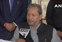 File photo of Uttarakhand Chief Minister Tirath Singh Rawat | Twitter/@ANI