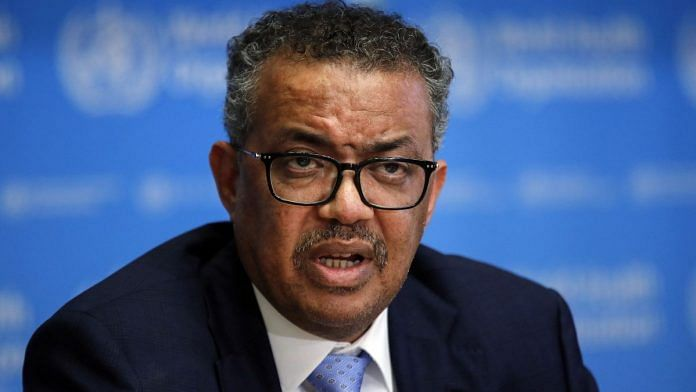 Filw photo of Tedros Adhanom Ghebreyesus, director general of the World Health Organization (WHO) | Photographer: Stefan Wermuth/Bloomberg