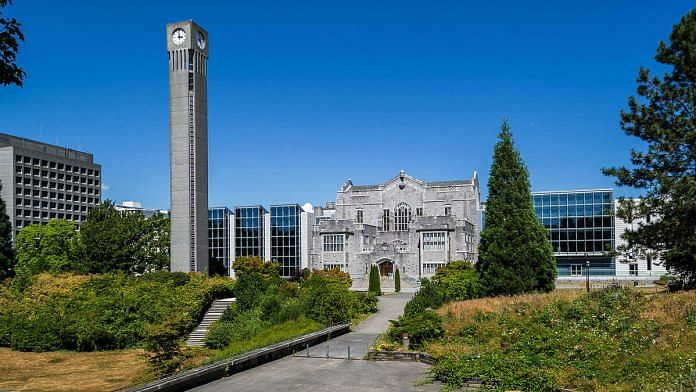 The University of British Columbia in Vancouver, Canada   Photo: Commons