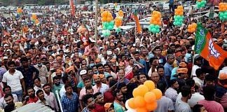 Representational image of a BJP rally in West Bengal | Photo: ANI