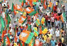 A BJP rally in Kolkata in April | Representational image | ANI