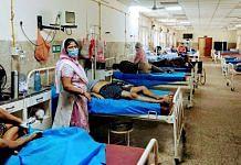 Covid patients at a Varanasi hospital | Representational image | ANI