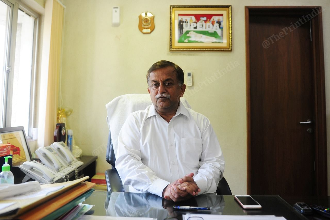 Uttar Pradesh Home Secretary and UPEIDA Chief Executive Officer Awanish Awasthi. | Photo: Suraj Singh Bisht/ThePrint