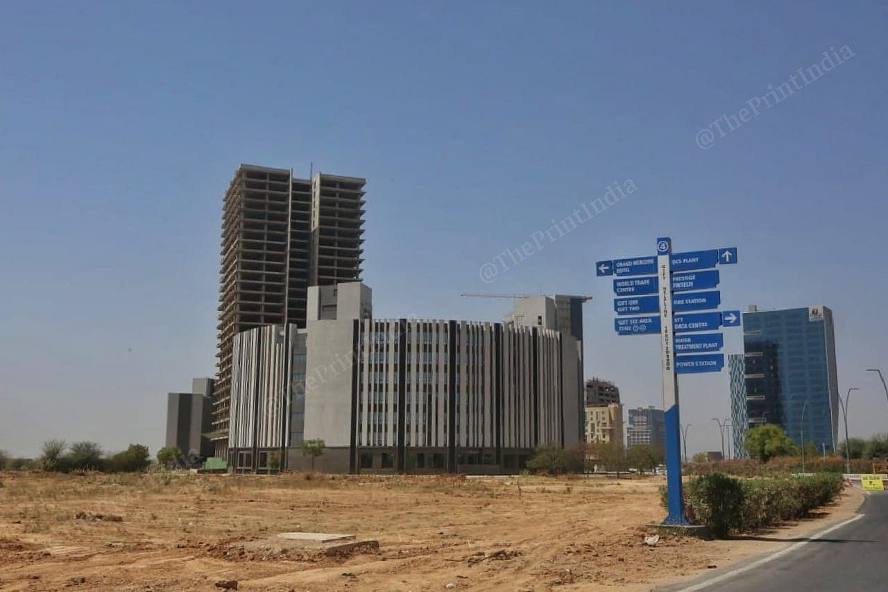 GIFT City in Gujarat. | Photo: Praveen Jain/ThePrint