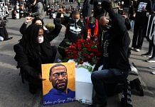 Demonstrators of George Floyd during an 'I Can't Breathe' Silent March For Justice in Minneapolis, Minnesota, U.S | Photographer: Emilie Richardson | Bloomberg