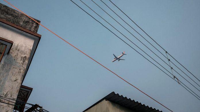 An Air India aircraft takes off from Netaji Subhas Chandra Bose International Airport in Kolkata (Representational image) | Photographer: Arko Datto | Bloomberg