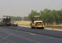 Construction ongoing on the Purvanchal Expressway in Uttar Pradesh. | Photo: Suraj Singh Bisht/ThePrint